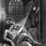 Frontispiece to 1831 edition of Frankenstein