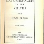 Freud, Civilization and Its Discontents